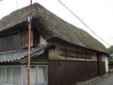南船津の茅葺の家