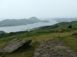 川内峠からの眺め(北の方向)