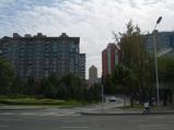 バス窓外の眺めは、これが中国?というイメージ