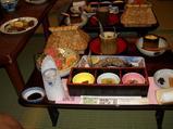 民芸旅館かみの家での夕食