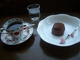 ベルギー産チョコレートでコーティングしたキューブのパン
