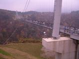 九重 夢の大吊橋は人・人・人・・・