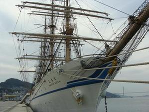 日本丸 船首