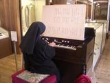 ド・ロ神父記念館でオルガン演奏を聞く