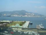 稲佐山や長崎港が一望できる