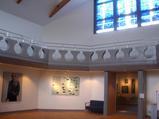 遠藤周作文学館 ステンドガラスが美しい