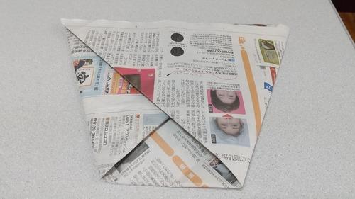 新聞紙ゴミ袋