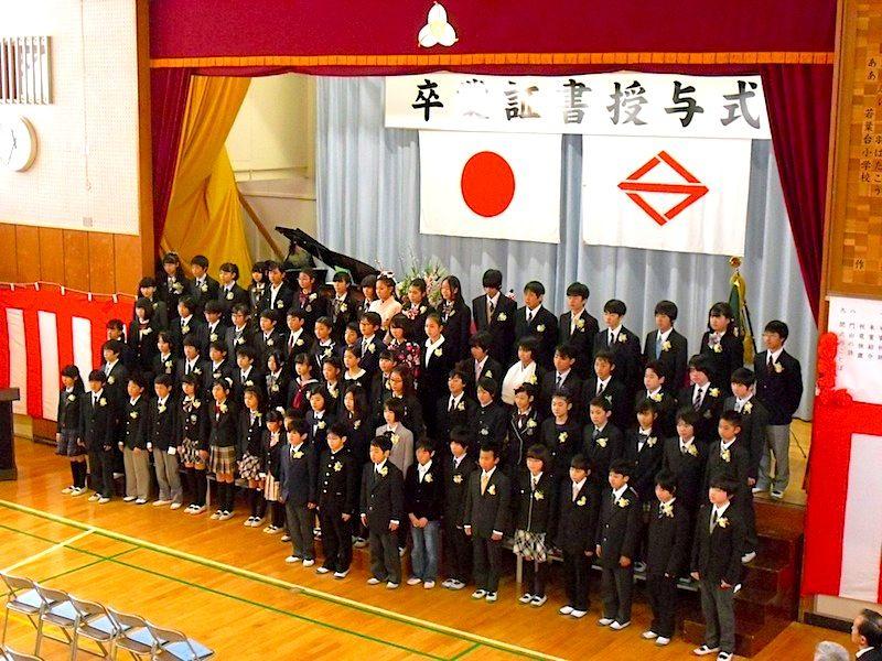 小学校 横浜 卒業 式 市