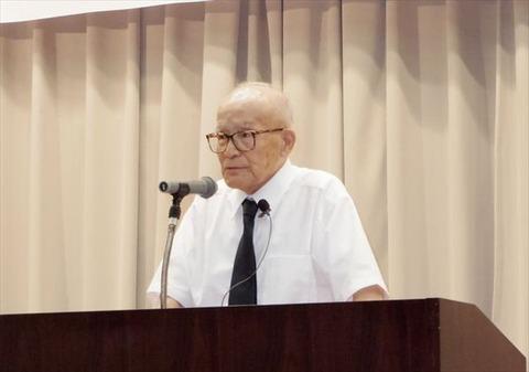 月山桂先生(2013年)
