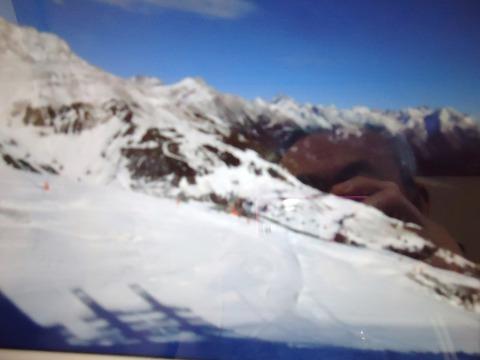 インスブルグのスキー場