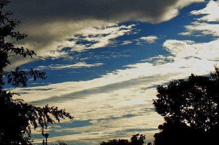 朝の雲 (1)