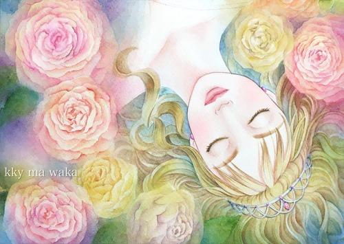 眠り姫waka-
