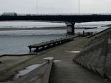 須賀港相模川下流