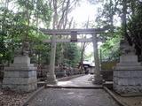 平塚八幡宮裏門