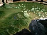 平塚市博物館半島模型
