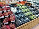 コープ厚木戸室店野菜売場