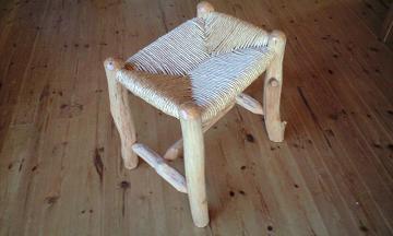 長野県大町の木楽工房で私が作った椅子