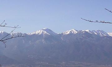 信州・安曇野の常念岳
