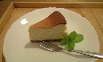 長野県大町のフォレストのチーズケーき