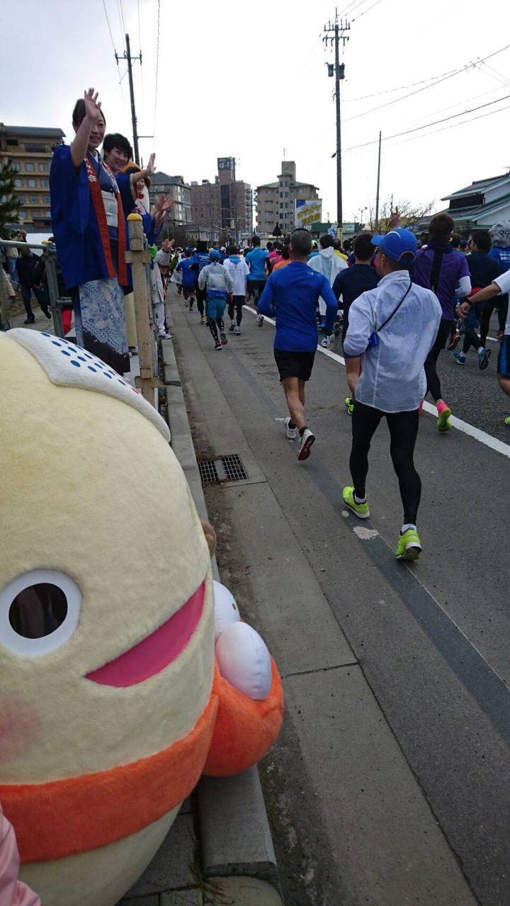 能登和倉万葉の里マラソン2018�