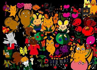 Cute animal paradaise00045