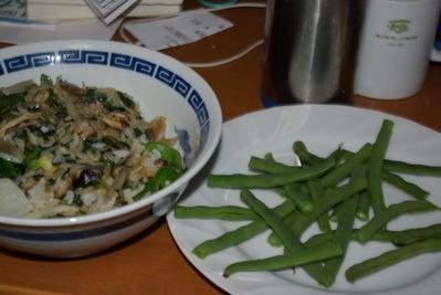 自炊の昼食
