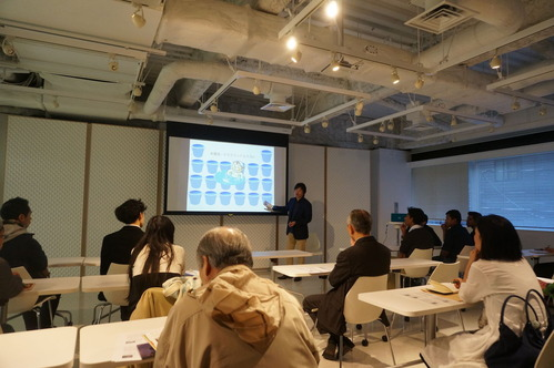 the 2nd session water lecture by Junji Hashimoto