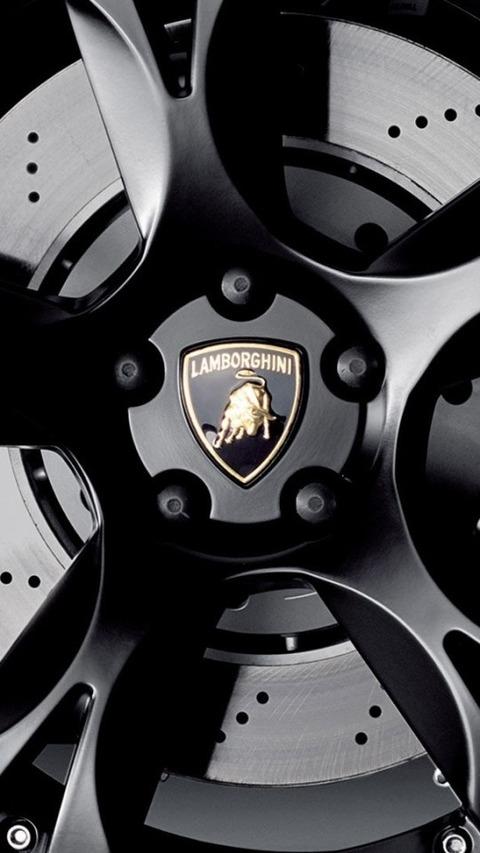 Tire Rim Black Sports Car Lamborghini 自動車