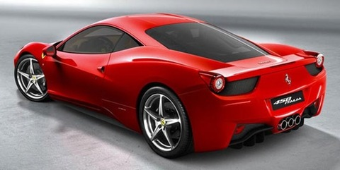 Papel de Parede bonito Carro Ferrari 458 Italia