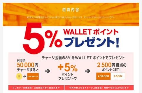 au_wallet_jibunbank_campaign_5percent