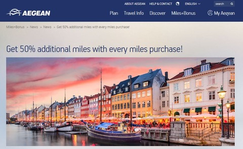 20181013Purchase miles and get 50% additional award miles!