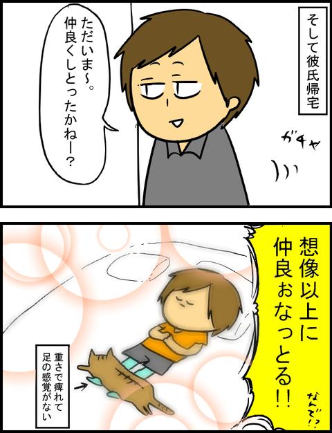 ぶーちゃん初対面10