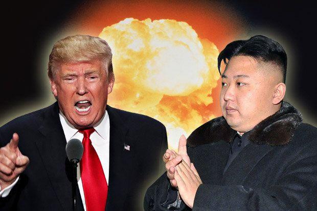 韓国人「現在の米国と北朝鮮の状況を表した適切な画像をご覧ください」