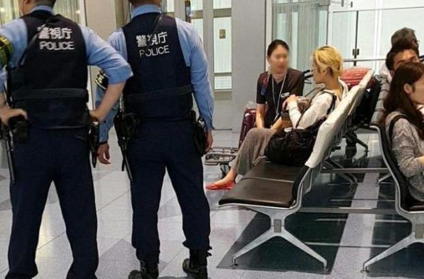 韓国人「日本の空港で韓国人女が大暴れ!日本の警察官に暴行を加え連行される」