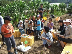 芋堀り体験学習 2