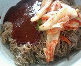昼冷麺アップ