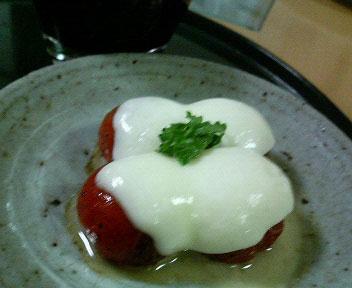 24カマンベールトマト
