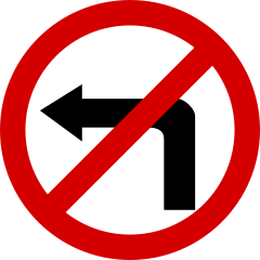 No-left_PL_sign