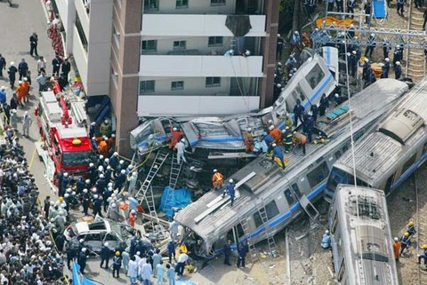 福知山線脱線事故の思い出