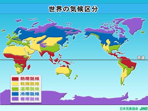 世界の気候区分