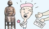 『少女像の著作権』を主張し他の少女像制作者を訴えるという「元祖の製作者夫妻」