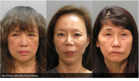 【米国】フロリダで韓人(コリアン)売春婦3人摘発(今日は写真あります)