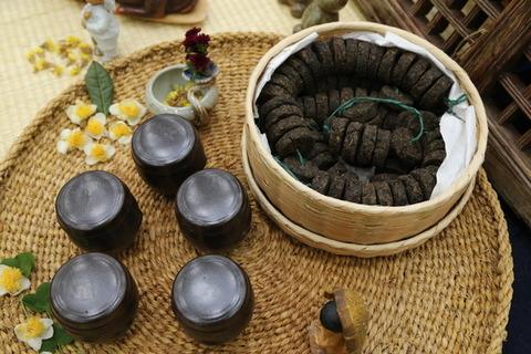 【韓国】 韓・中・日茶文化の歴史的根幹「長興青苔銭」 三国時代から1000年以上続いてきた伝統発酵茶