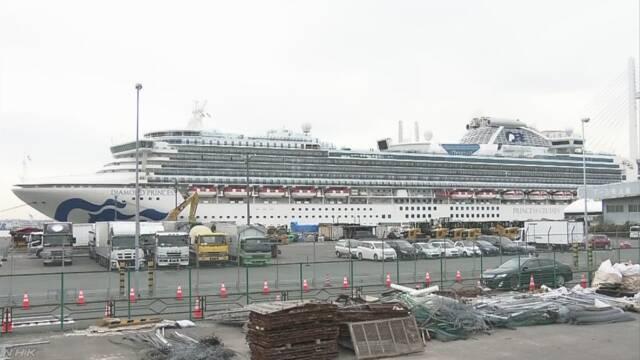 クルーズ船乗客2人が死亡 80歳代の日本人男女