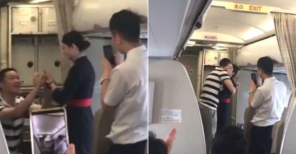 会社「おまえのプライベートに乗客を巻き込むな」 フライト中の機内でプロポーズされたCA、解雇される