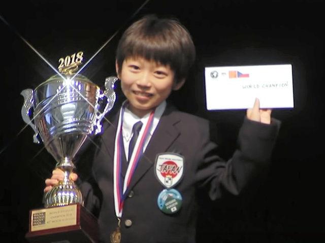 【朗報】オセロ世界大会で優勝した福地啓介君がかわいい