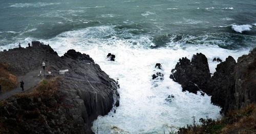東尋坊で遺体で見つかった20歳男性 生きたまま崖から転落か