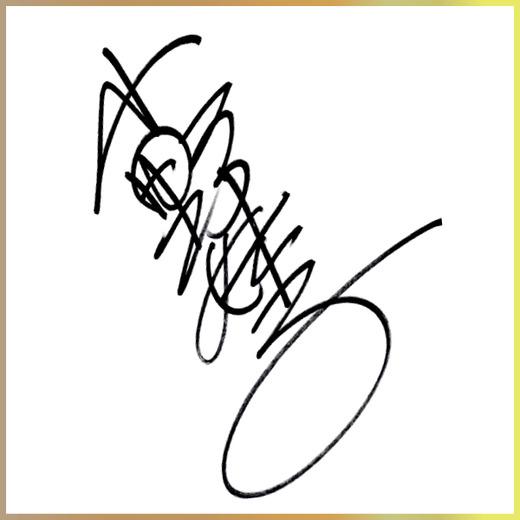 小野妹子 小野妹子のサイン 遣隋使の代表的存在。比較的オーソドックスなタイプのサインと言える。男
