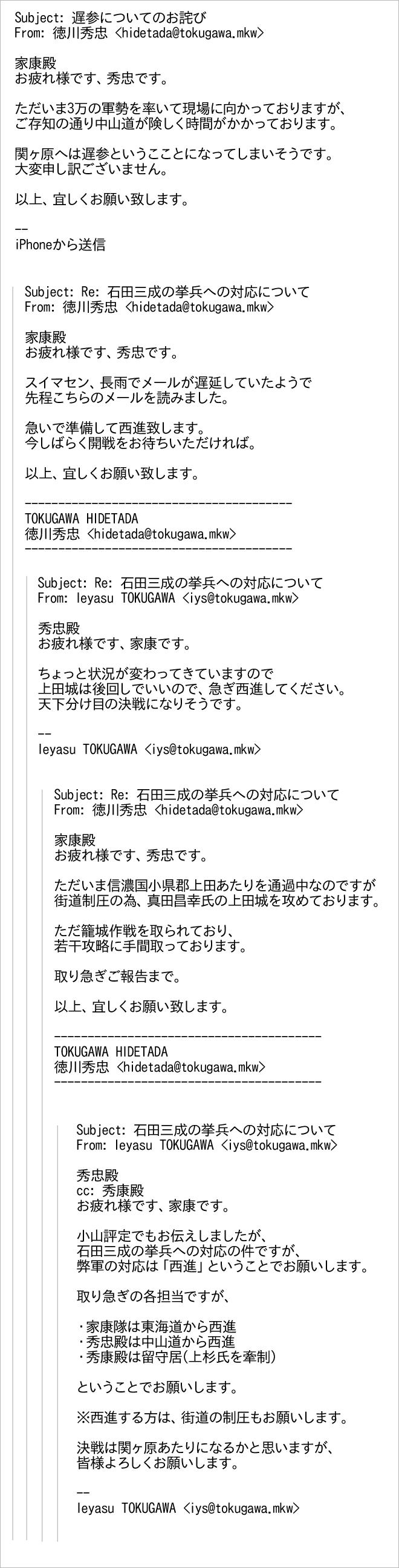base (クリックで拡大できます) 「今しばらく開戦をお待ち頂ければ」が物悲し... 徳川秀忠