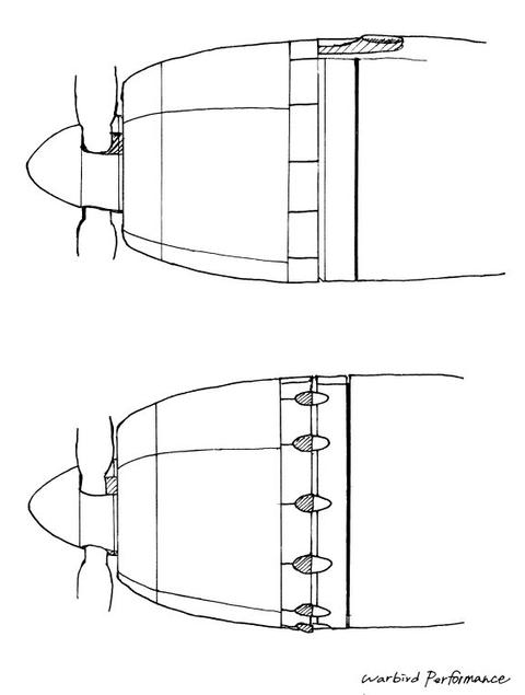 排気管比較図